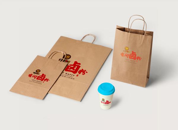海吃海喝有间卤粉加盟品牌-袋子